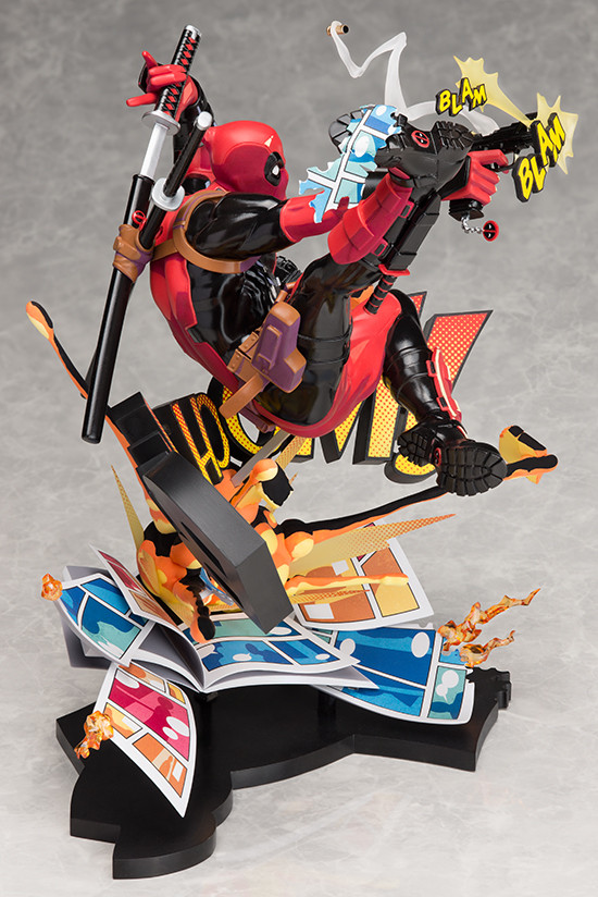 Фигурка Дедпул (Deadpool Breaking the Fourth Wall Play Arts Kai) изображение 3