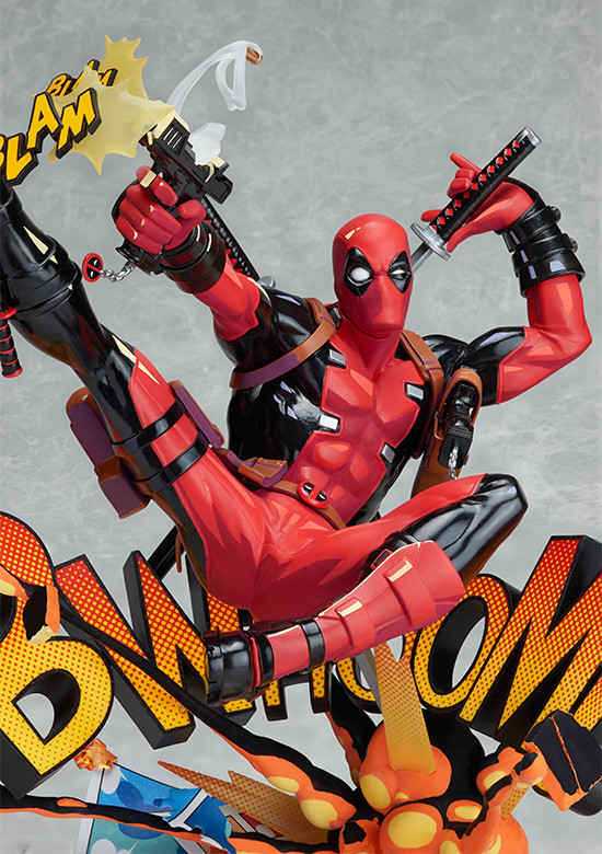 Фигурка Дедпул (Deadpool Breaking the Fourth Wall Play Arts Kai) изображение 2