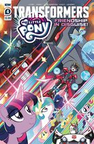 My Little Pony Transformers Friendship In Disguise #4