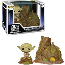 Фигурка Funko POP! Йода и его хижина на Дагобе (Dagobah Yoda with Hut)