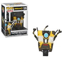 Фигурка Funko POP! Borderlands 3 - Железяка (Borderlands 3 - Claptrap (Distressed))