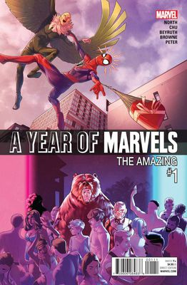 A Year Of Marvels #1 - обложка