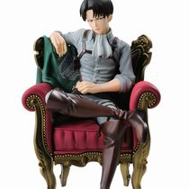 Фигурка Леви Аккерман в Кресле (Levi Ackerman Attack On Titan) 12 см