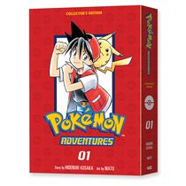Pokemon Adventures Collector's Edition Vol. 1 Мягкий переплет