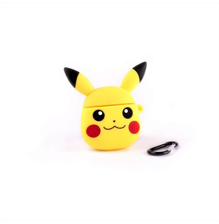 Чехол для Airpods Пикачу Покемон (Pikachu Pokemon)