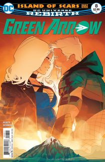 Green Arrow #8 (Rebirth)