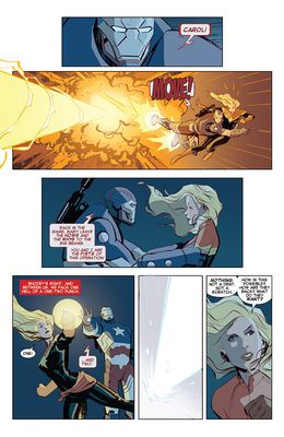 Captain Marvel TPB #2 (Stay Fly) изображение 3