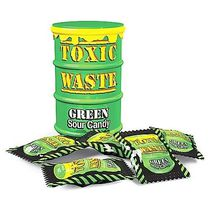Конфеты Toxic Waste Green Sour Candy