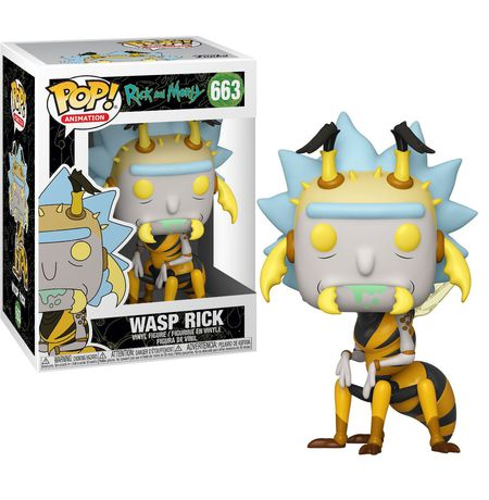 Фигурка Funko POP! Рик И Морти - Рик Оса (Wasp Rick - Rick & Morty)