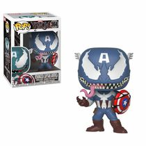 Фигурка Funko POP! Капитан Америка - Веном (Venomized Captain America - Venom)