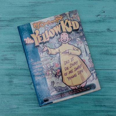 Энциклопедия Yellow Kid TPB A Centennial Celebration of the Kid Who Started the Comics изображение 2