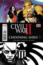 Civil War II Choosing Sides #5
