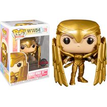 Фигурка Funko POP! Чудо-женщина 1984 - в золотой броне (Wonder Woman 1984 - Golden Armor Shield)