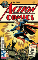 Action Comics #1000 1940's by Michael Cho
