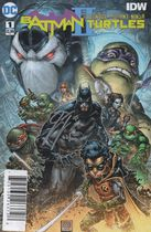 Batman Teenage Mutant Ninja Turtles II #1 с автографом James Tynion IV