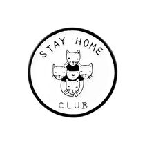 Значок Stay home club