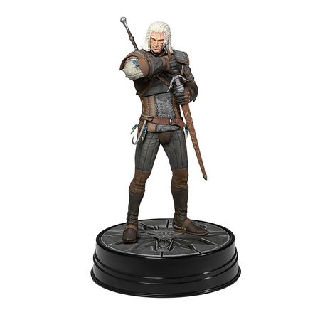 Фигурка Ведьмак - Геральт Каменные Сердца (Witcher Geralt Hearts Of Stone) 20 см