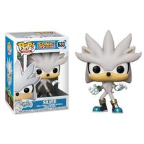 Фигурка Funko POP! Сильвер (Silver - Sonic the Hedgehog)