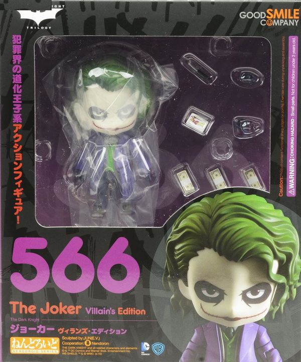 Фигурка Джокер Nendoroid (Joker Villian's Edition) изображение 2