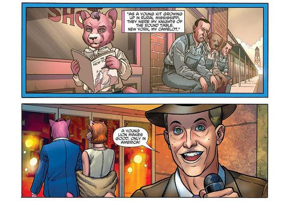 Exit Stage Left: The Snagglepuss Chronicles #1 изображение 2