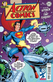 Action Comics #1000 1950's by David Gibbons