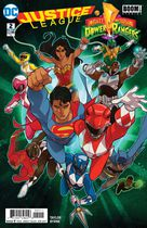 Justice League/Mighty Morphyn Power Rangers #2