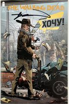 The Walking Dead #1 Wantshop Variant Cover с автографом Киркмана
