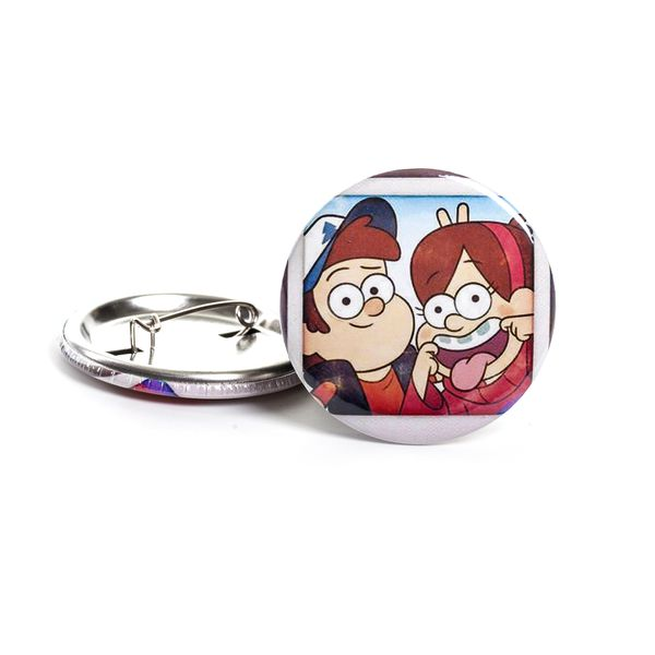 Значок Гравити Фолз: Диппер и Мейбл (Gravity Falls: Dipper and Mabel)