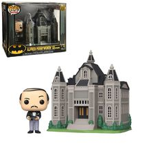 Фигурка Funko POP! Бэтмен - Поместье Уэйнов и Альфред (Wayne Manor with Alfred) 80th Anniversary