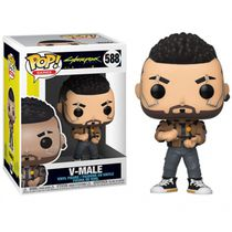 Фигурка Funko POP! Cyberpunk 2077 - V-Male