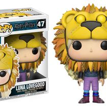 Фигурка Funko POP! Полумна Лавгуд (Luna Lovegood with Lion Head)