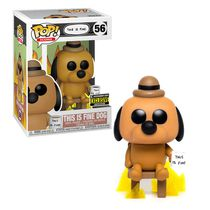 Фигурка Funko POP! This Is Fine Dog (Entertainment Earth Exclusive)