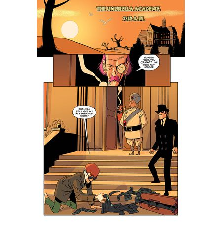 Tales from the Umbrella Academy: You Look Like Death #1B изображение 2