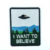 Нашивка I want to believe