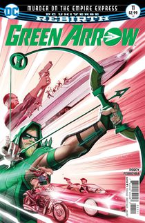 Green Arrow #11 (Rebirth)