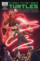 Teenage Mutant Ninja Turtles Ghostbusters #3