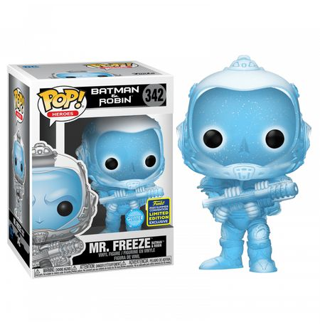 Фигурка Funko POP! Бэтмен и Робин - Мистер Фриз Эксклюзив (Batman and Robin - Mr. Freeze SDCC 2020)