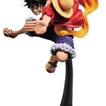 Фигурка One Piece Monkey.D.Luffy (Манки Д. Луффи) в прыжке 16 см