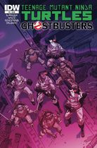Teenage Mutant Ninja Turtles Ghostbusters #2