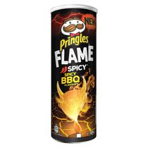 Чипсы Pringles Flame Spicy BBQ (острый соус барбекю)