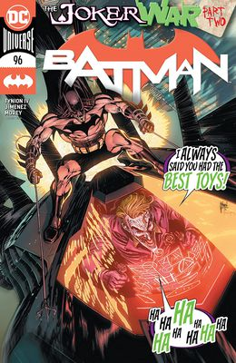 Batman: The Joker War #96A