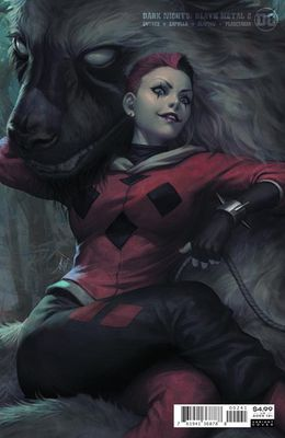 Dark Nights Death Metal #2D Harley Quinn Cover
