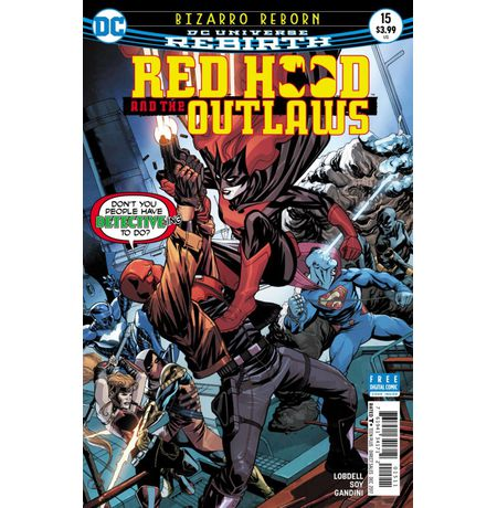 Red Hood And The Outlaws #15 (Rebirth)