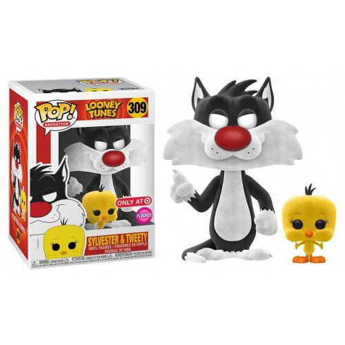 Набор фигурки Funko POP! и футболка Сильвестр и Твити (Sylvester & Tweety) Exclusive изображение 2