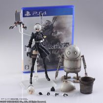 Фигурка NieR Automata 2B & Machine Lifeform Type B Square Enix 15 см