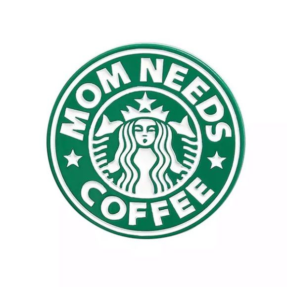 Значок Mom Needs Coffee