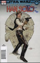 Star Wars : Age of Rebelion - Han Solo #1 с автографом Terry and Rachel Dodson