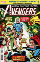 True Believers: Marvel's Greatest Creators: Avengers: The Origin of Mantis #1