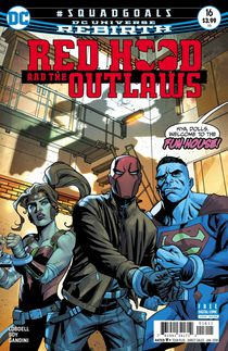Red Hood And The Outlaws #16 (Rebirth)