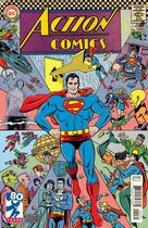 Action Comics #1000 1960's by Michael Allred